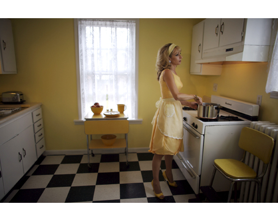 "Production still from ""Locks & Hocks"" video, 2008 by Heather Bennett from ""The Empire Trilogy""."