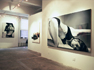 Installation shot of first solo exhibition in New York by Heather Bennett at Luxe Gallery in 2003.